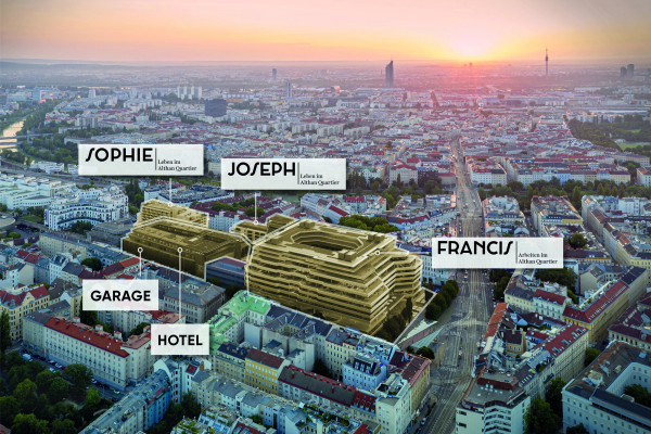 "From office location to urban hotspot: The ""Althan Quartier"" in Vienna"