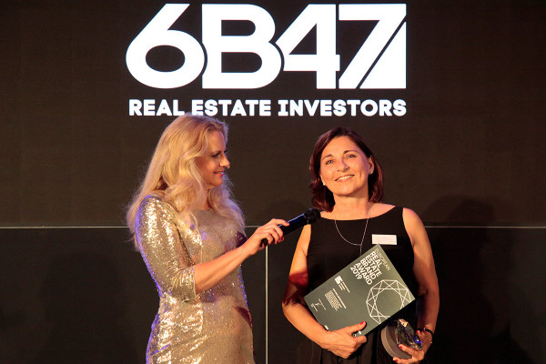 Real Estate Brand Award: 6B47 awarded