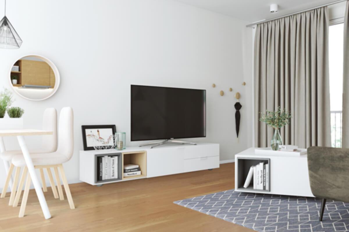 Home furnishing via mouse click