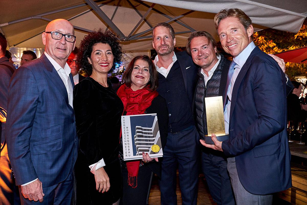 Deutscher Wohnungsbau Award für IN-Tower