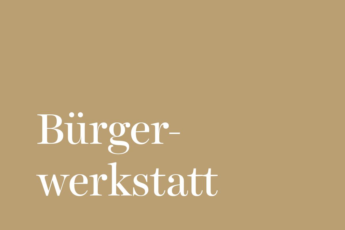 "Bürgerwerkstatt ""Grünflächengestaltung Freischützstraße"""